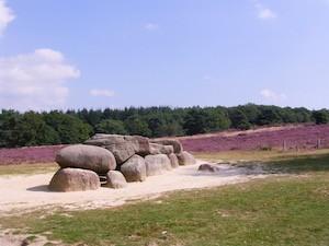 Hunnebed in Drenthe, vakantie