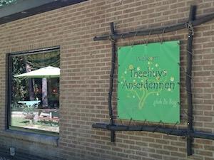 theehuis Anserdennen vanuit vakantiehuis Drenthe
