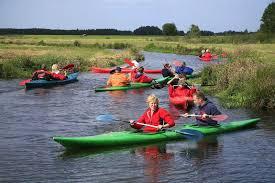 Kanoën en varen op de Weerribben